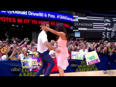 William Levy, Cheryl Burke Perform Cha-Cha Live on 'GMA'