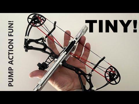 World's Tiniest Compound Bow - Badassed!