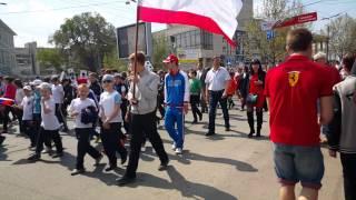 Парад 1-го мая Симферополь(Первомайский парад в Симферополе 2015., 2015-05-01T20:04:21.000Z)