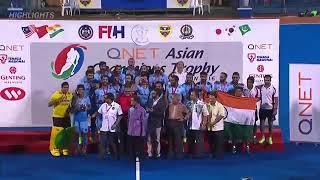 Indian hockey Asian champion Trophy 2016 Qnet partnership