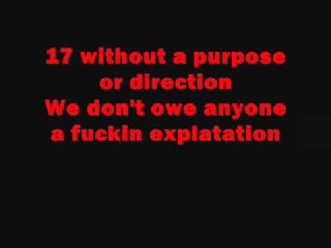 Blink 182 The Rock Show Lyrics