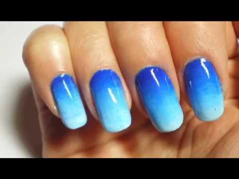 Nail Art Sfumata Ombrè Degradè Nails I Parte Youtube
