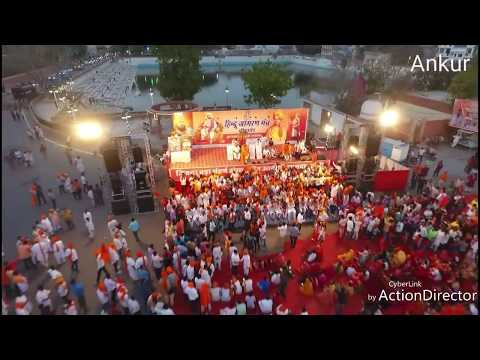 Hindu Dharm Yatra 2018 Bikaner Drone Videos Shoot Ankur cont.9680538131