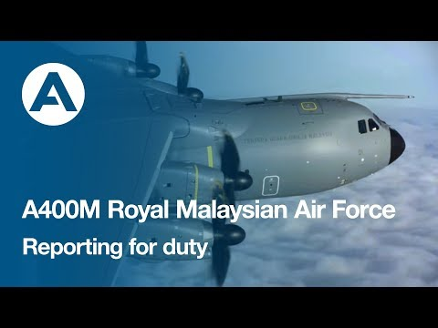 A400M Reporting for duty with the Royal Malaysian Air Force