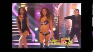 EL GRAN SHOW Laura Spoya vs Sofía Franco: duelo de reggaetón 29-08-2015
