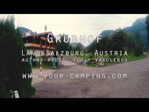 Camping Grubhof Land Salzburg Austria