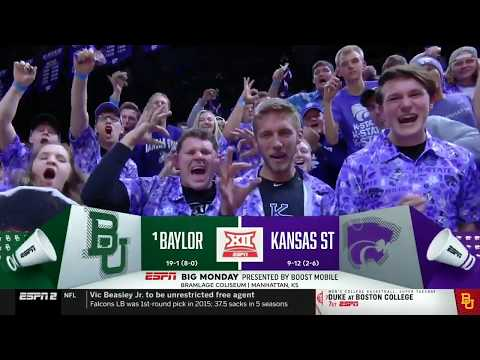 Baylor Basketball (M): Highlights Vs. Kansas State