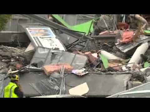 Australian doctor caught in quake