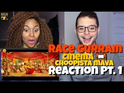 Race Gurram - Cinema Choopistha Mava | Allu Arjun | Shruti Haasan Reaction Pt.1