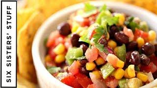 FRESH Cowboy Caviar - Healthy Side Dish or Appetizer - Food Friday