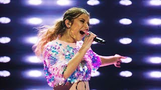 Hanna Ferm sjunger I wanna dance with somebody i Idol 2017 - Idol Sverige (TV4)