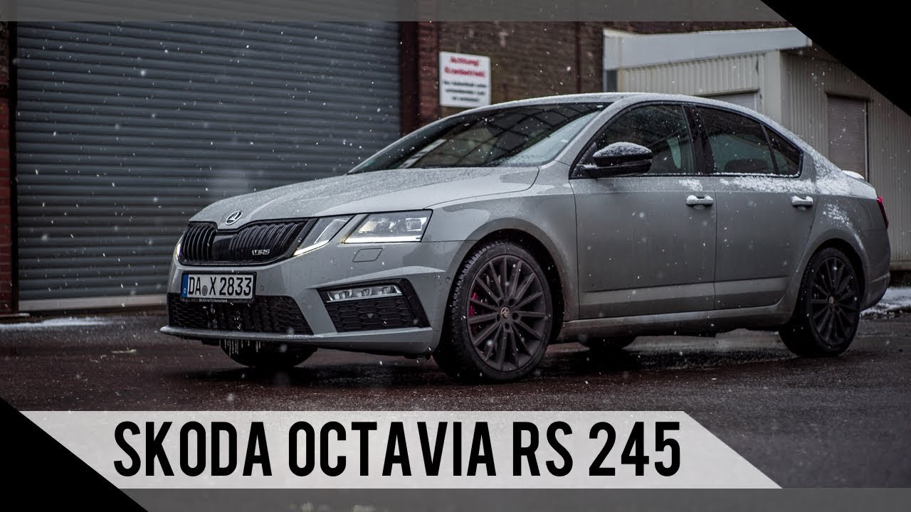 skoda octavia rs 245 2018 test review fahrbericht motorwoche youtube. Black Bedroom Furniture Sets. Home Design Ideas