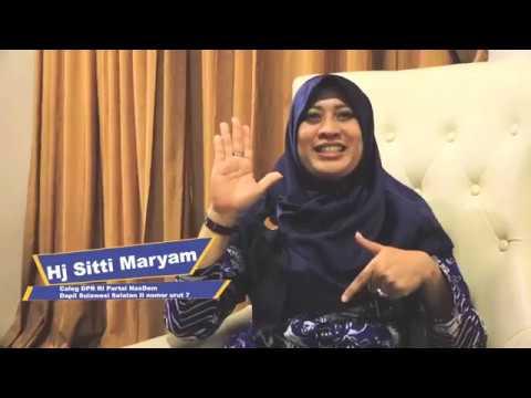 Sitti Maryam Siap Perjuangkan Pemerataan Pembangunan di Wajo