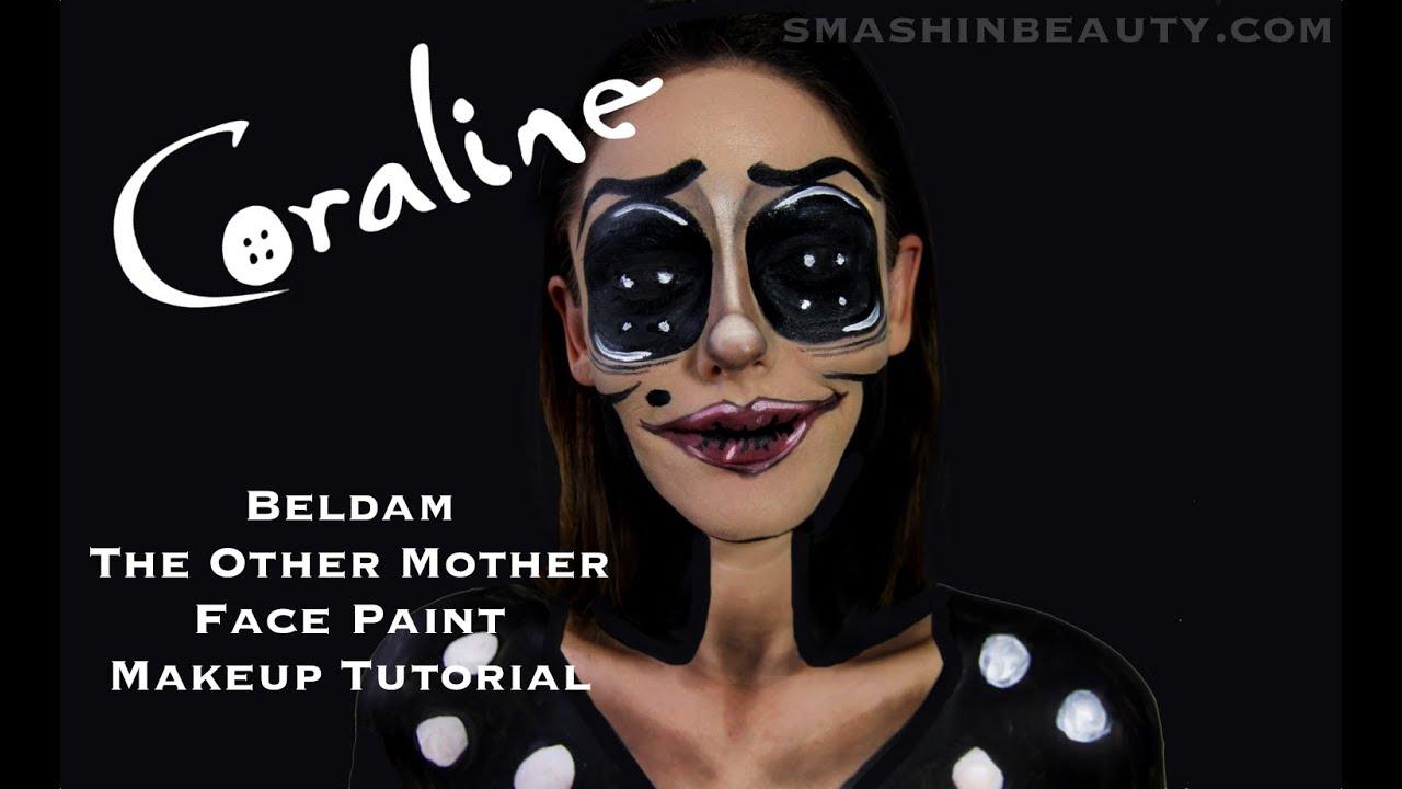 Coraline S Other Mother Halloween Makeup Tutorial Smashinbeauty