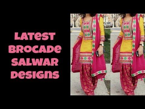 Latest Brocade Salwar Designs 06