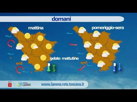 Il meteo di oggi in Toscana - venerdì 7 Febbraio 2020