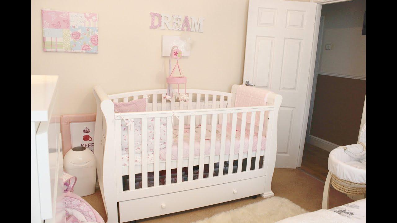 Baby Girl Nursery / Room Tour - YouTube