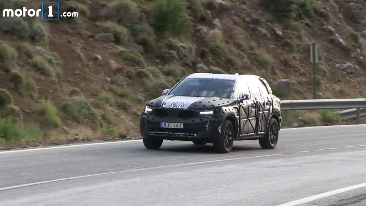 2018 volvo xc60 spy shots. 2018 volvo xc40 spy video xc60 shots c