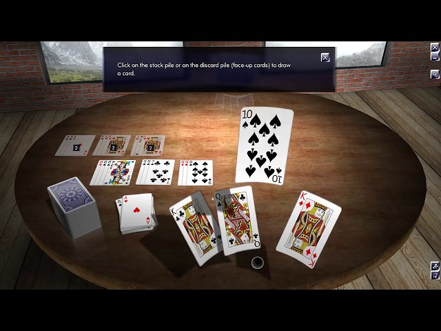 Let's Play: Classic Card Games 3D