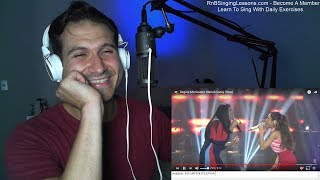 Coach Reaction - Regine Morissette Mariah Carey Raw