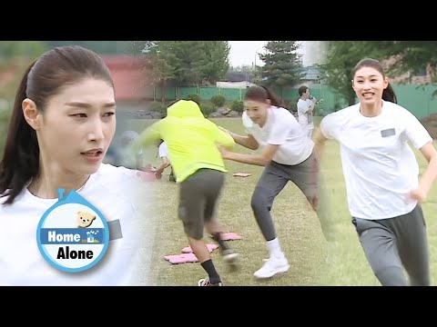 Yeon Koung's Way Of Education.. Yeon Hee Slips.. Hwasa Staggers.. [Home Alone Ep 300]