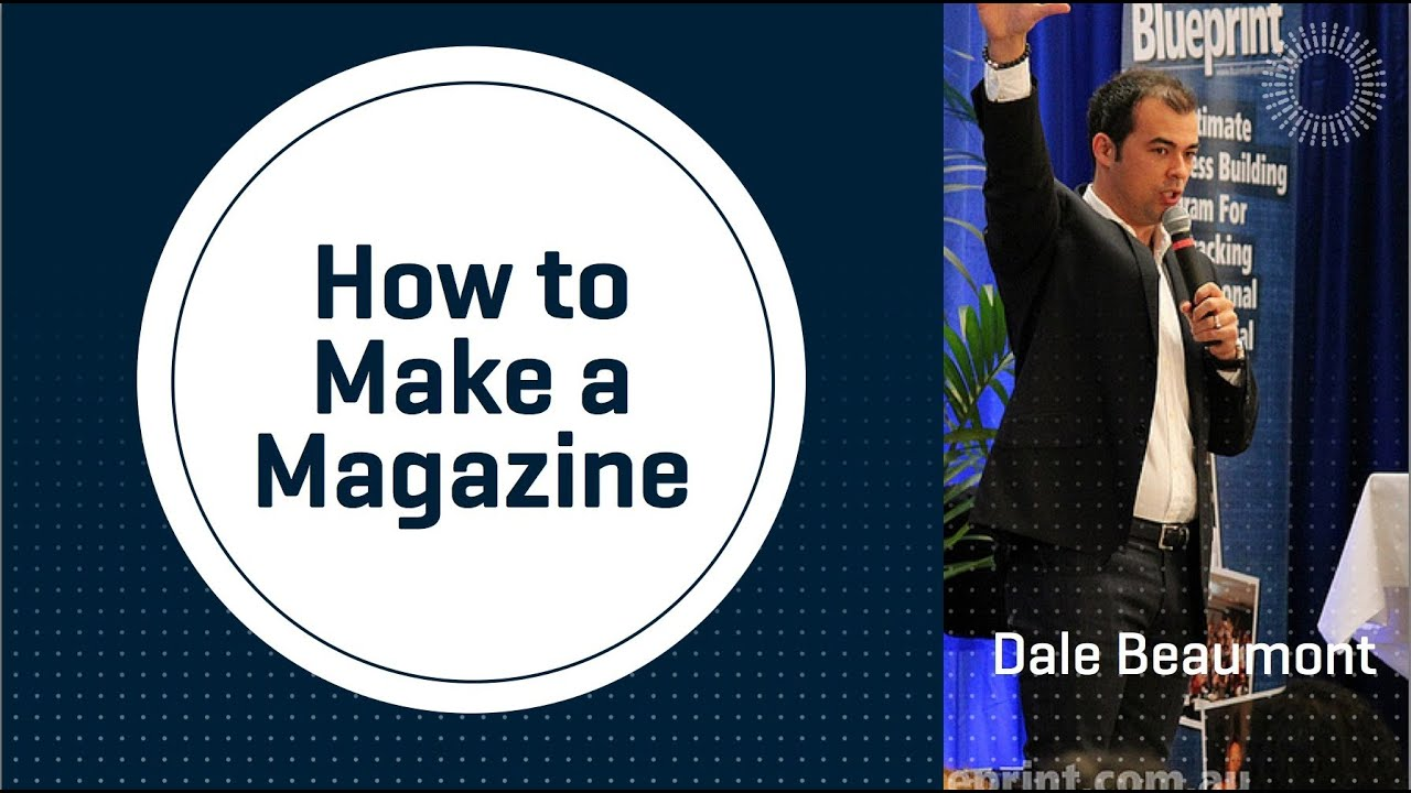 How To Make A Magazine - YouTube