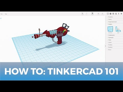 How To Use Tinkercad 3d Design Software 101 Youtube