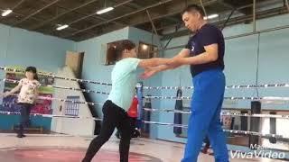Спасшая из огня троих детей 8-летняя Улдана из Кокшетау стала заниматься боксом