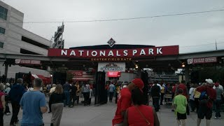 Game-day tour of Nationals Park (Washington Nationals - Major League Baseball) in Washington, DC