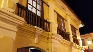 Филиппины, Виган: Вечерняя прогулка по пешеходной улице Calle Crisologo