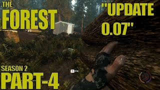 The Forest Survival Gameplay / Let's Play (Alpha 0.07) -Part 4-
