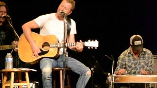 "Dierks Bentley sings and tells story behind ""I Hold On"" at fan club party Video"