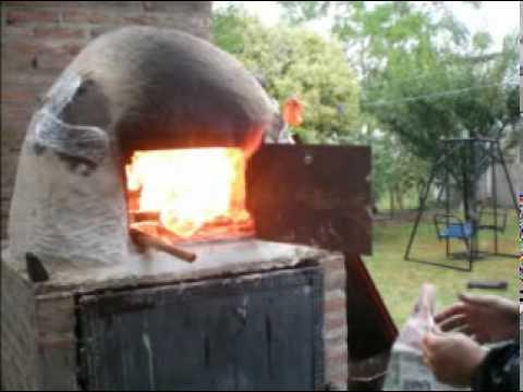 La construccion de mi horno de barro youtube - Construccion de chimeneas de ladrillo ...