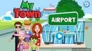 اختفاء تالا|my town Airport@قصص my play Home