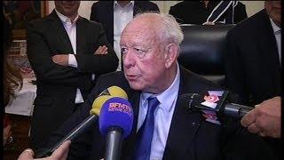"""Jean-Claude Gaudin: """"les Marseillais n"""