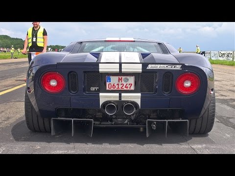 1000HP Ford GT GeigerCars - INSANE ACCELERATIONS!