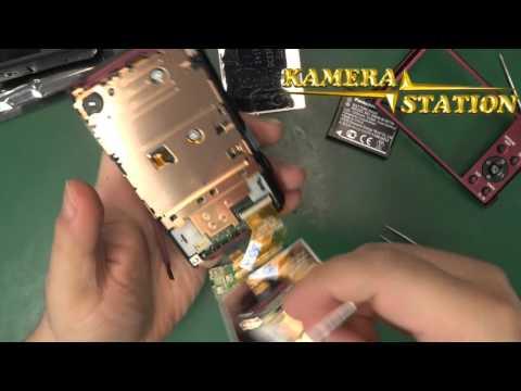 1P74 PANASONIC LUMIX DMC TZ41 TZ40 DISPLAY KAMERA REPARATUR ANLEITUNG /  Kamera Handy Station