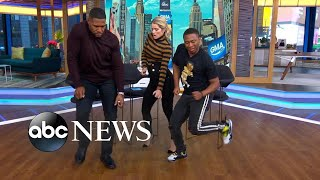 Video The man behind a hot dance craze, Shiggy, busts a move on 'GMA Day'! download MP3, 3GP, MP4, WEBM, AVI, FLV Oktober 2018