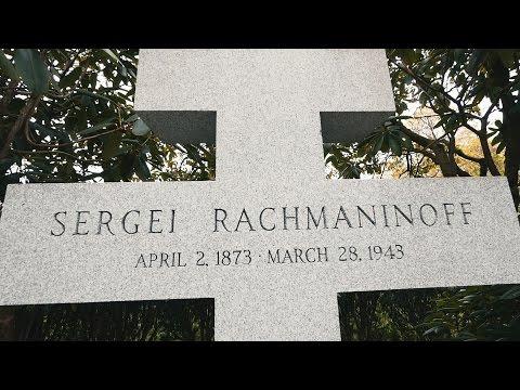 Sergei Rachmaninoff Grave in Kensico Cemetery