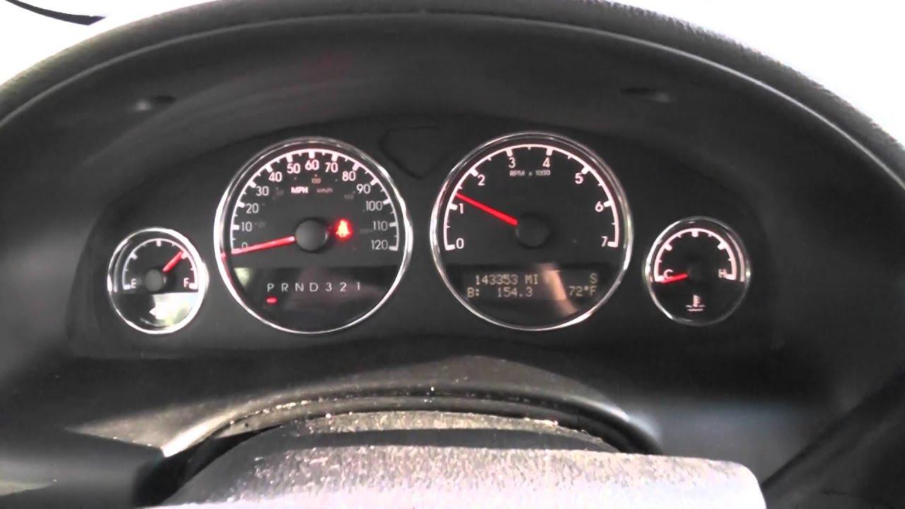 2006 Chevy Uplander Engine Start Up