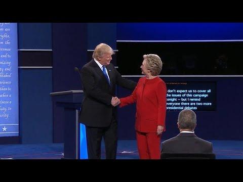 Key moments from Trump-Clinton debate