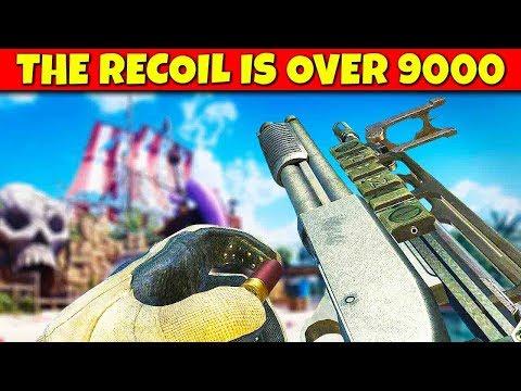 Top 10 CRAZIEST RECOIL GUNS in Cod History