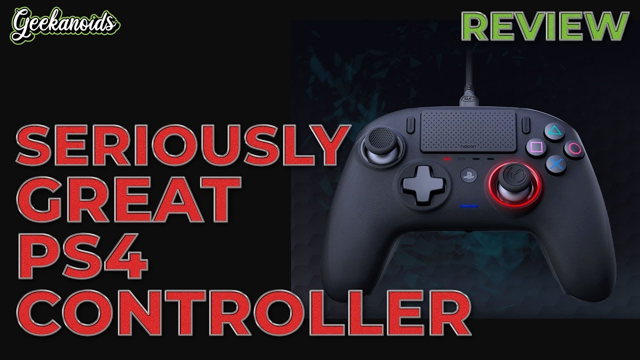 Nacon Revolution Pro Controller 3 Review Youtube