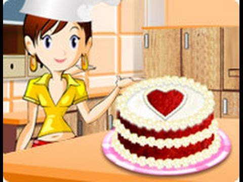 Cocina Con Sara Tarta De Terciopelo Rojo Long Gameplay Youtube