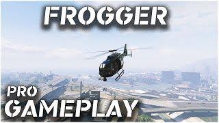 GTA V PC | Pro Frogger Pilot Gameplay | by Lavrik