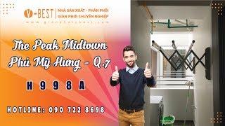 Khám phá The Peak Midtown căn hộ đắt nhất Phú Mỹ Hưng Quận 7 có gì hot? | Giàn Phơi V-Best