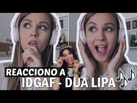 Download Youtube: REACCION A DUA LIPA IDGAF | Nideconi