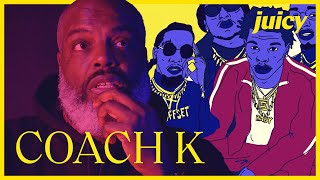 Coach K talks about Lil Baby & Migos / Storytime