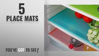 Top 10 Place Mats [2018]: Kuber Industries PVC Fridge Multi Purpose Mats Set Of 6 Pcs (Multi Color)