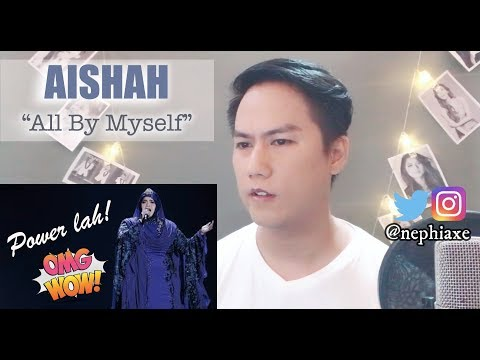 Aishah - All By Myself | Gegar Vaganza 2017 Final | REACTION